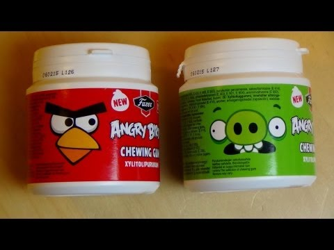 Angry Birds Chewing Gum
