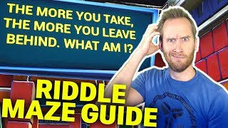 How to Complete Mixer.OnsideDaff's Riddle Maze FT.4thWall Narrator v2.0 Fortntie Creative Map
