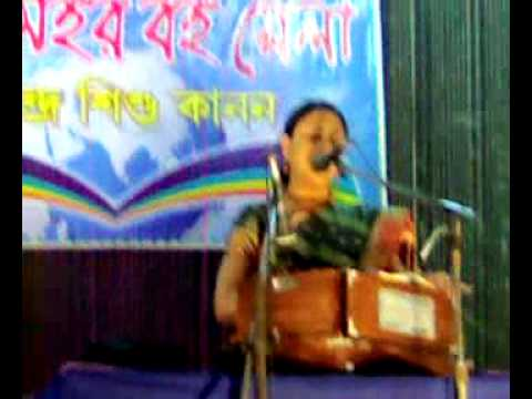 Kailashahar Book Fair - Rabindra Sangeet by Vaishali Dam.mp4