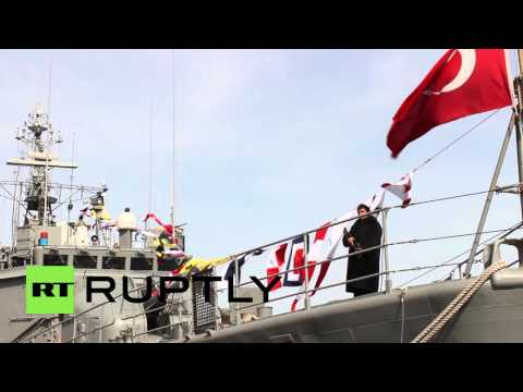 Ukraine: Turkish warships deployed in Odessa in Turkish-Ukrainian deal