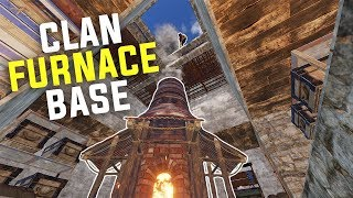 Rust - RAIDING a SALTY Clan's FURNACE BASE (Rust Raiding & PvP Highlights)