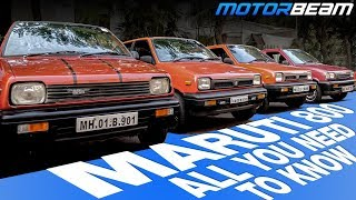 History Of Maruti 800 - India's Legendary Car | MotorBeam