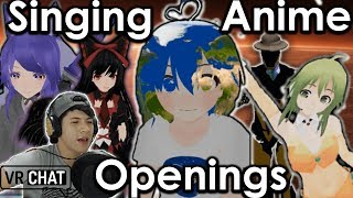 VRCHAT Sing Anime Opening #4