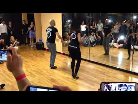 Ataca y La Alemana Workshop at Salrica Dance Studio