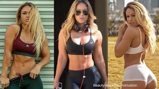 Fitness model Tamra Dae workout motivation | bikini model workout | female workout motivation |