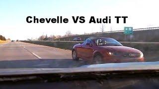 1970 Chevelle VS Audi TT