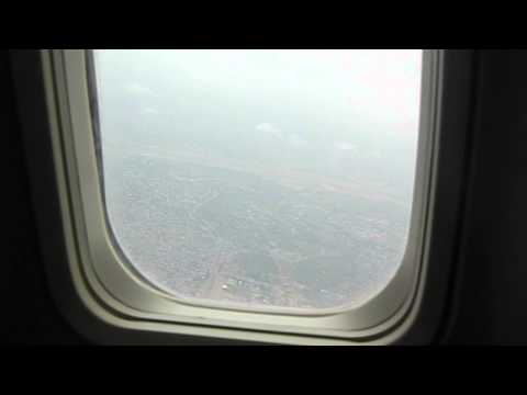 Accra, Ghana. Taking off, beautiful landscape