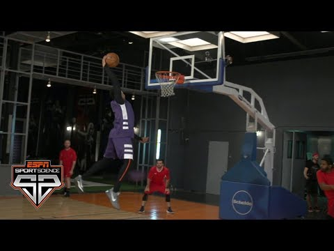 Even A Pro Dodgeball Team Can't Stop Markelle Fultz | Sport Science | ESPN