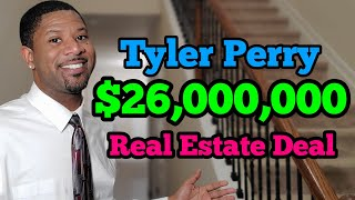 $26,000,000 Tyler Perry Real Estate Deal, Fort McPherson Army base, Tyler Perry Studio