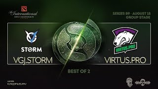 [DOTA 2 LIVE PH] VGJ.Storm Vs Virtus Pro |Bo2| The International 2018 DAY 4