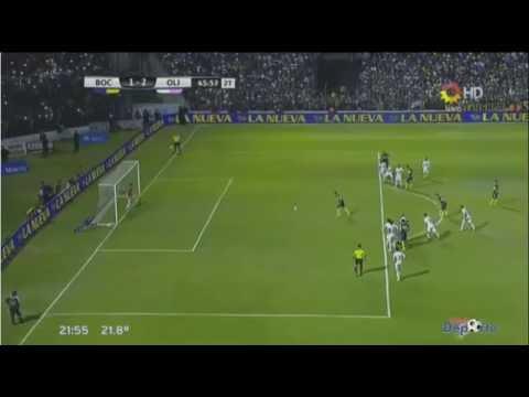Boca, en una definición bastante caliente, igualó 2 a 2 con Olimpia en Jujuy