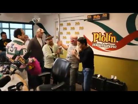juan frese y platanito show se agarran a golpes!!