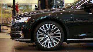 NEW! 2019 Audi A8 L at Audi Bend
