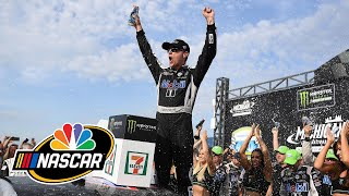 What was the turning point at Michigan International Speedway? | Motorsports on NBC