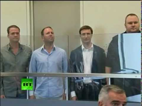 Internet CyberWar Launch - Arrest Megaupload Founder Kim Dotcom ( Schmitz)