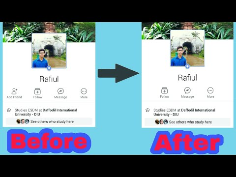 How To Hide Add Friend Button On Facebook using Mobile and Computer