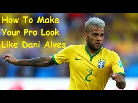 FIFA 15: How To Make Your Pro Look Like Dani Alves