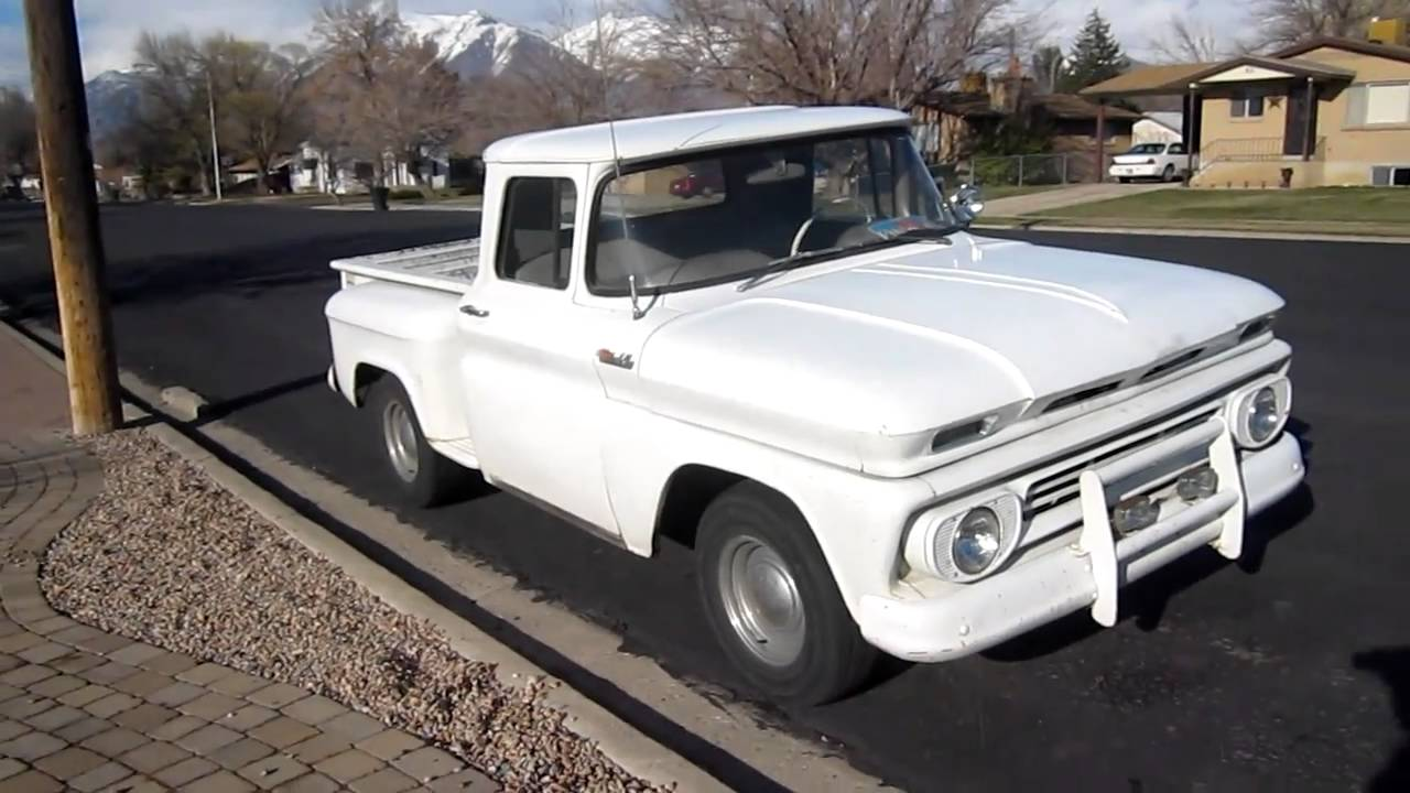 1962 chevy c10 stepside pickup truck youtube. Black Bedroom Furniture Sets. Home Design Ideas