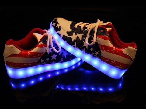 Светящиеся кроссовки – обзор новинок