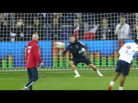 Antoine Griezmann ● Olivier Giroud ● Alexandre Lacazette ●  Séance tirs au but