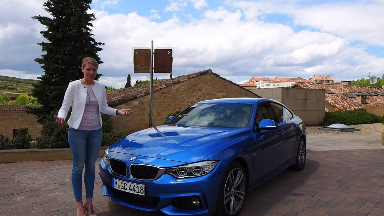 BMW 4 Series Gran Coupe Explained By Paloma Schmidt