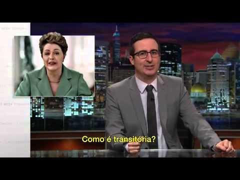 Last Week Tonight com John Oliver: programa satiriza escândalo da Petrobras e Dilma Rousseff