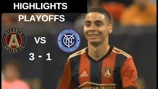 Atlanta United FC vs New York City FC Highlights | MLS Cup Playoffs 11/11/2018