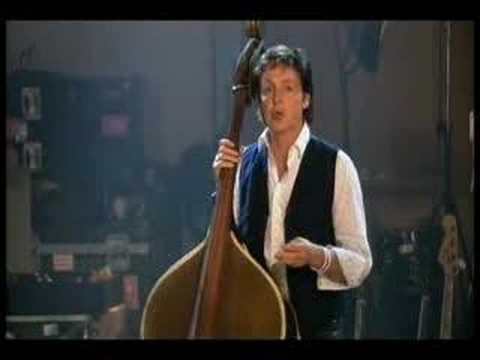 Paul McCartney on the Upright Bass Music Videos