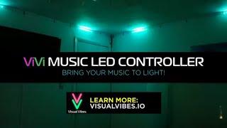 ViVi Music LED - The Most Intelligent Music Reactive Lightshow Controller for Addressable LED Strips