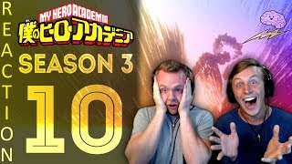 SOS Bros React - My Hero Academia Season 3 Episode 10 - The Symbol of Peace!!