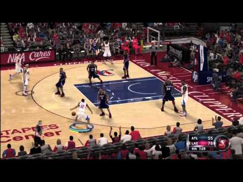 NBA 2K12 Atlanta Hawks vs. Los Angeles Clippers 3rd & 4th qtr.