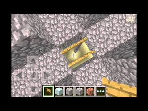 Minecraft pe 0.6.1 mob trap [awesome]