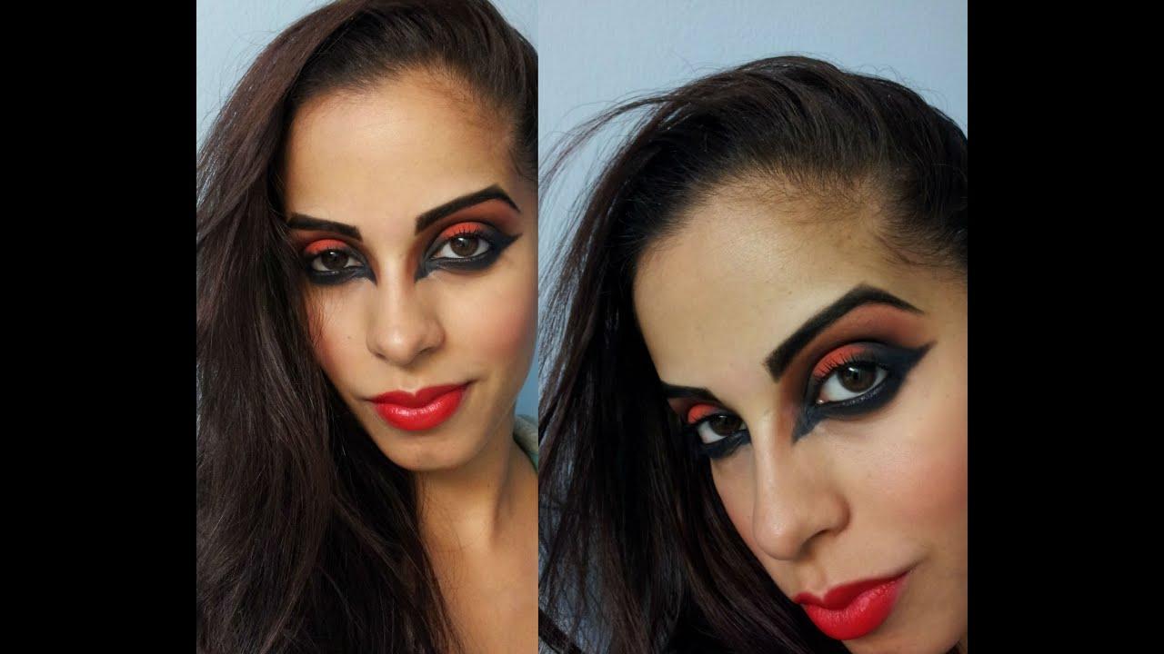 Devil Halloween Face Makeup Halloween Sexy Devil Makeup