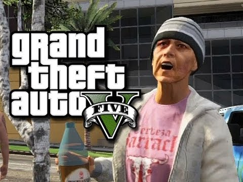 GTA 5 Online Funny Moments!  (Crazy WTF Launch Glitch and More!)