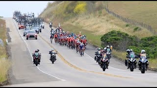 Watch Amgen Tour of California 2019 riders cruise down Hwy. 1 to finish in Morro Bay