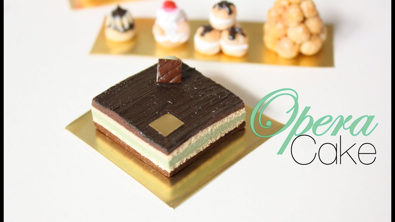 Opera Cake History Opera Cake French Pastries