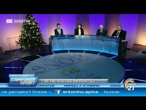 Campania Sport (parola ai tifosi) post Napoli-Parma 2-0 - Canale 21 18/12/14