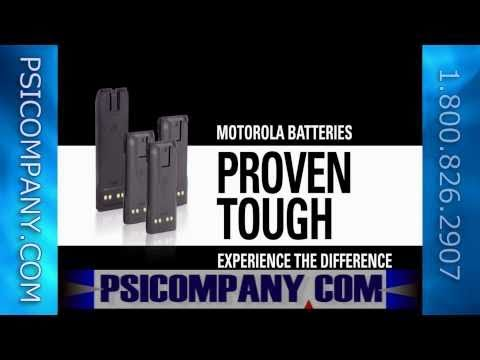 Motorola Radio Batteries: Built Tough