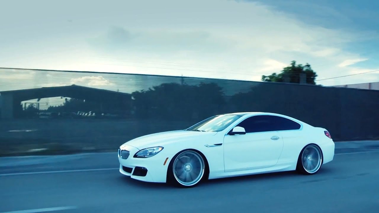"BMW F13 6 Series 650i on 22"" Vossen VVS-CV1 Concave Wheels ..."