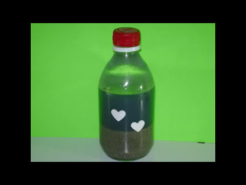Cómo hacer un océano en una botella