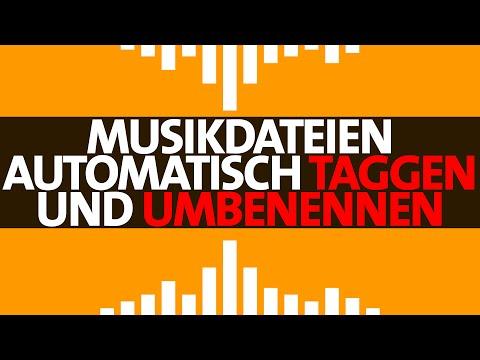 MP3Tag: Musikdateien automatisch Taggen und Umbenennen