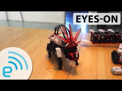Lego Mindstorms EV3 bonus models eyes-on | Engadget