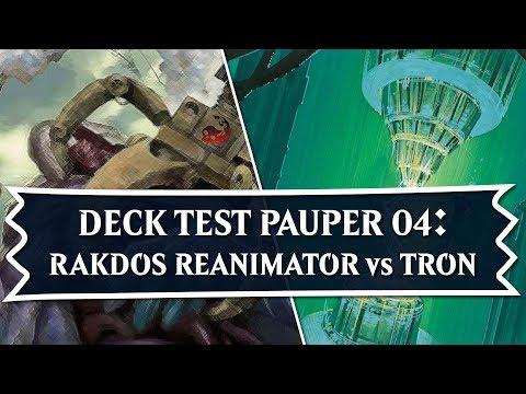 MTG - Rakdos Reanimator vs Tron  Test Pauper 04