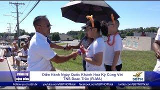 PHÓNG SỰ CỘNG ĐỒNG: Diễn hành ngày Quốc Khánh Hoa Kỳ cùng với TNS Dean Trần