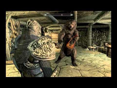 skyrim dancing bear mod