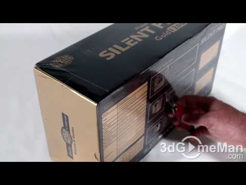 #82 - Cooler Master Silent Pro Gold 1200W Power Supply Unboxing Video