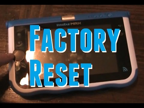 Factory Resetting the InnoTab Max