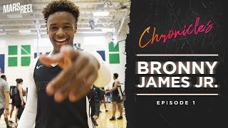 BRONNY JAMES JR. | EP.01 | Mars Reel Chronicles