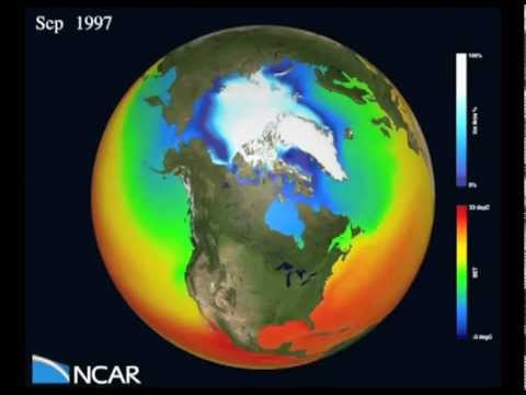 Arctic sea ice loss - climate model projections - Marika Holland, NCAR