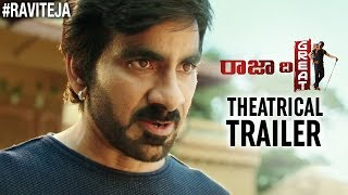Raja The Great Theatrical Trailer | Ravi Teja | Mehreen | Dil Raju | Anil Ravipudi | Ravi Teja